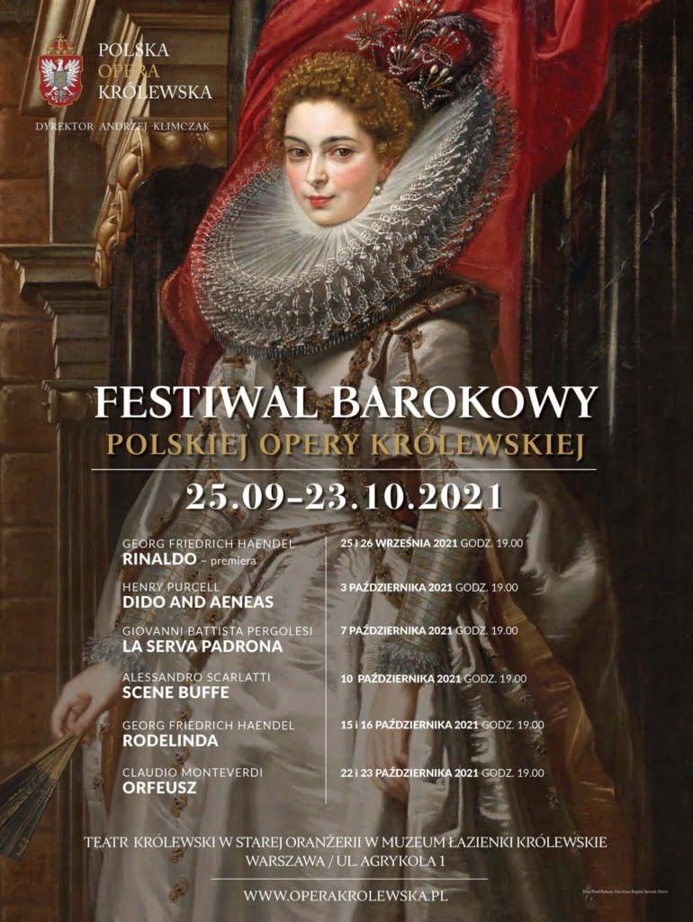Festiwal Barokowy Polskiej Opery Królewskiej - Łazienki Królewskie