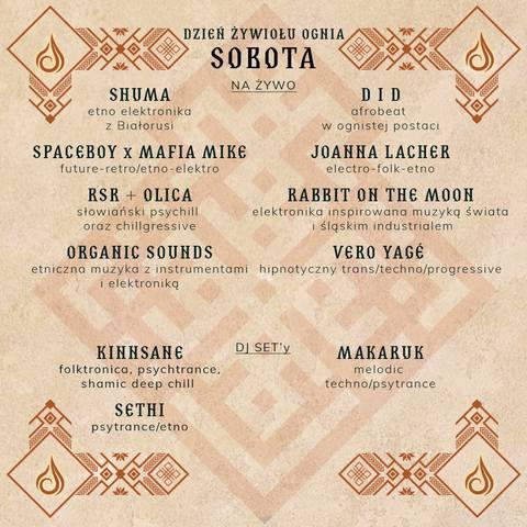 Siemia Bug Festival - program - sobota