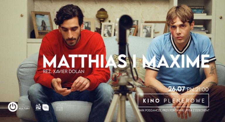 Matthias i Maxime Kino plenerowe Olsztyn