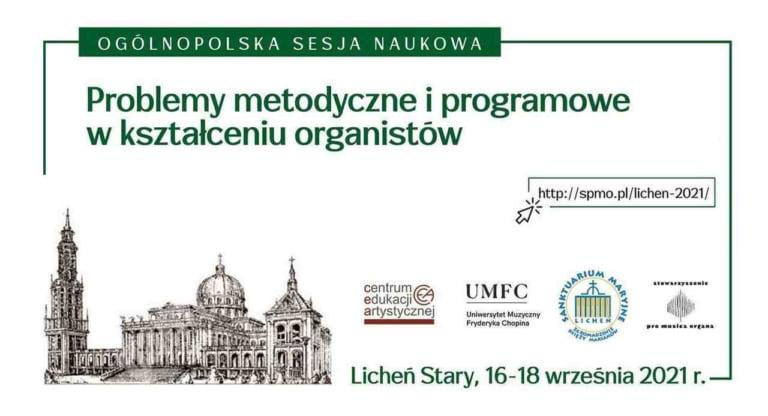 Problemy w kształceniu organistów - Licheń