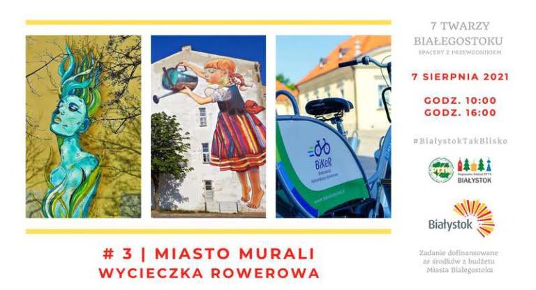 Białystok miasto murali
