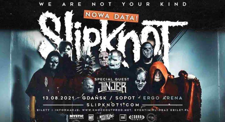 Slipknot Jinjer Gdańsk Sopot