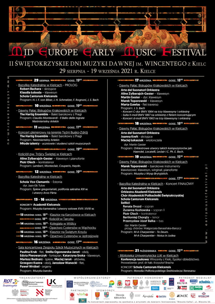 Mid Europe Early Music Festival 2021