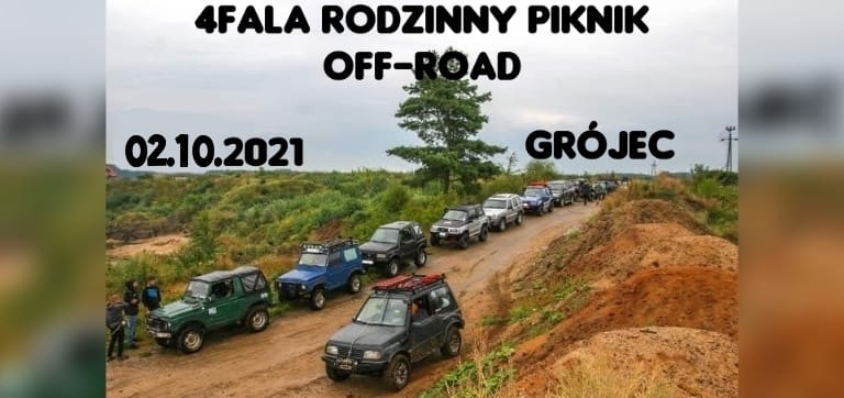 4Fala Rodzinny piknik Off-road 2021