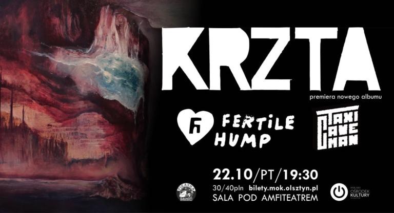 KRZTA / Fertile Hump / Taxi Caveman