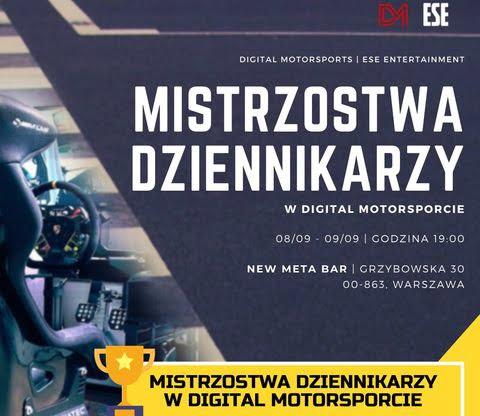 Mistrzostwa dziennikarzy w digital motorsporcie