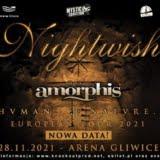 NIghtwish Arena Gliwice 28.11.2021 | koncert - plakat