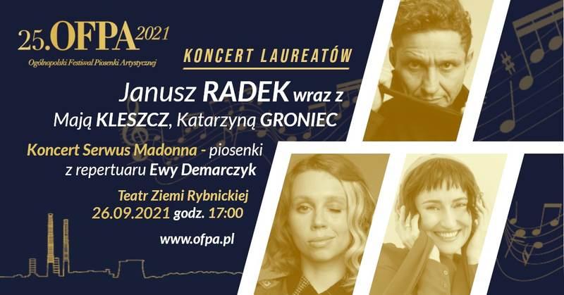 Ogólnopolski Festiwal Piosenki Artystycznej OFPA 2021 - Koncert Laureatów