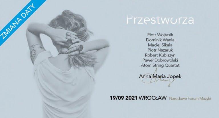 Anna Maria Jopek NFM Wrocław - Przestworza