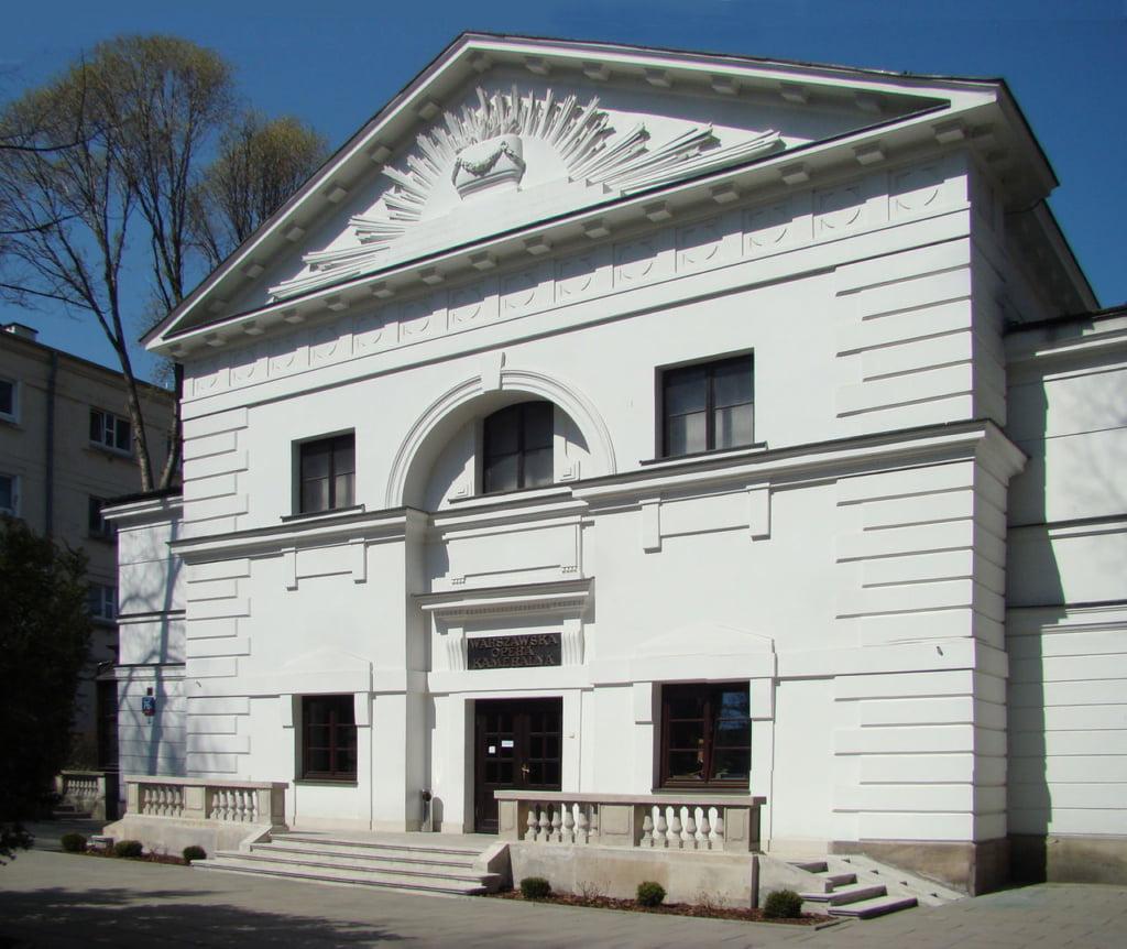 Warszawska Opera Kameralna Aleja Solidarności 76b, Warszawa