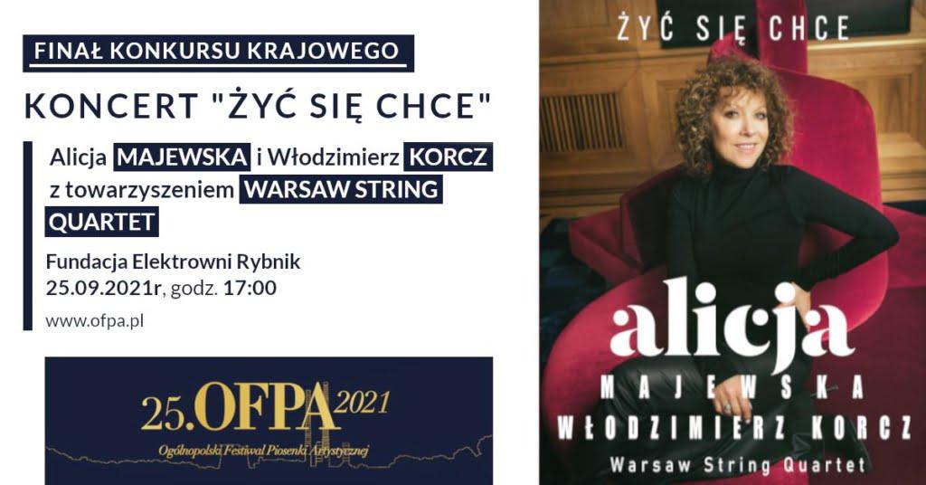 Żyć się chce - Ogólnopolski Festiwal Piosenki Artystycznej - Rybnik 2021