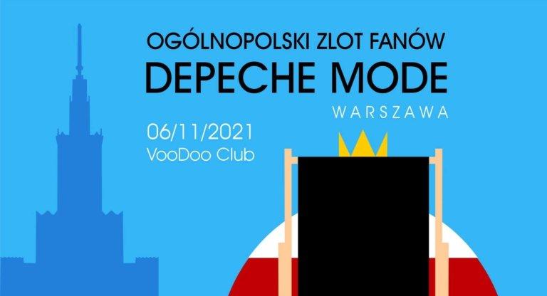 Depeche Mode - zlot fanów Warszawa 2021