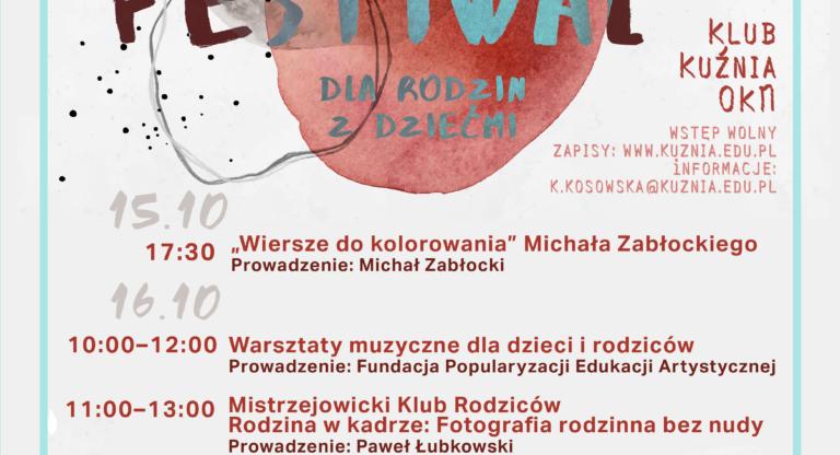 Art Festiwal dla rodzin z dziećmi - Kraków
