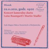 Koncert kameralny duetu Luise Baumgartl i Martin Stadler | Białystok