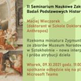 Rzekoma miniatura Zygmunta III